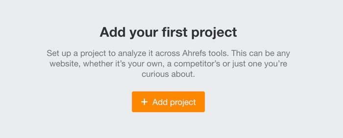 ahrefs audit website