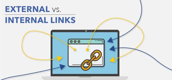 external link và internal link