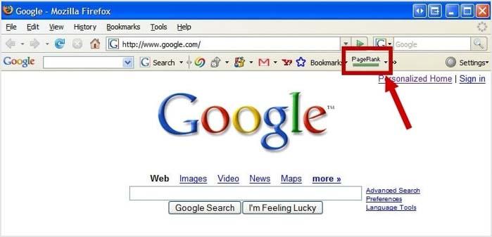 google pagerank la gi