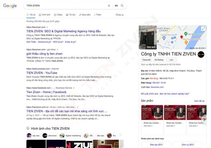 google my business la gi